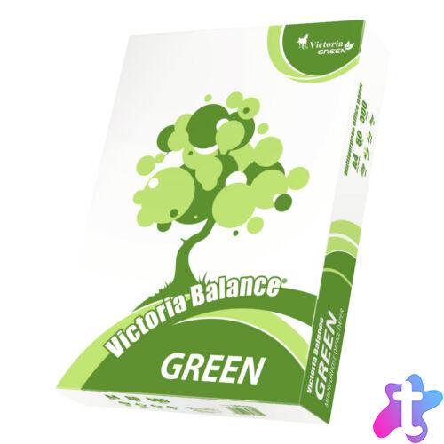 Fénymásoló papír, A4, 80 g, 500 ív, újrahasznosított, Balance Green Recycled