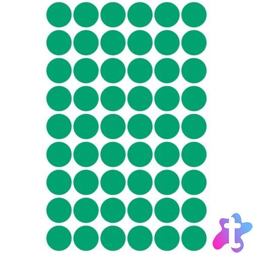 Avery 3143 12mm 270db-os zöld jelölőpont