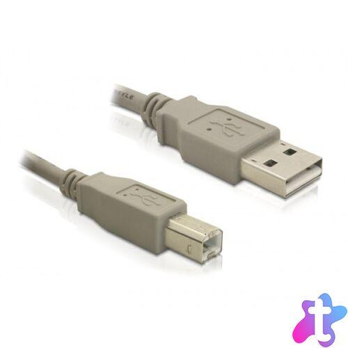 Delock 82215 1,8 méter USB 2.0 A-B apa/apa nyomtató kábel