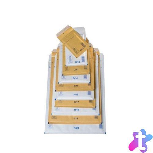 320x455mm barna légpárnás boríték W9
