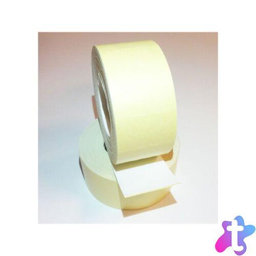 26x16mm szögletes 5db fehér árazógép szalag