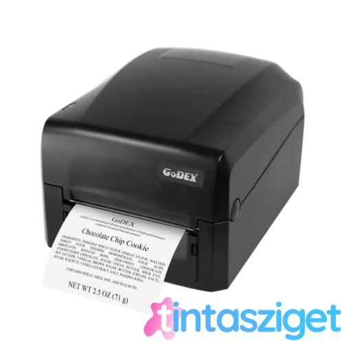"Godex GE300 4"" 203dpi USB/RS232/LAN vonalkódnyomtató"
