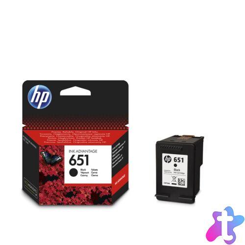 HP C2P10AE (651) fekete tintapatron