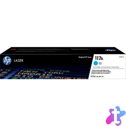 HP W2071A (117A) cián toner