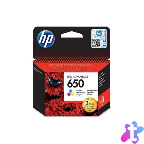 HP CZ102AE (650) háromszínű tintapatron