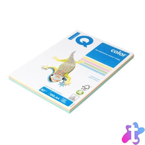 IQ Color A4 80g pasztel színű 4x25db másolópapír