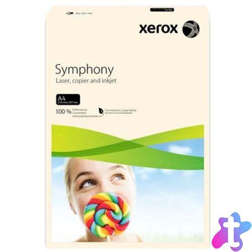 Xerox Symphony A4 160g pasztel krém másolópapír