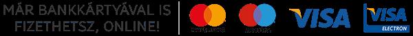 Már bankkártyával is fizethetsz, online!
